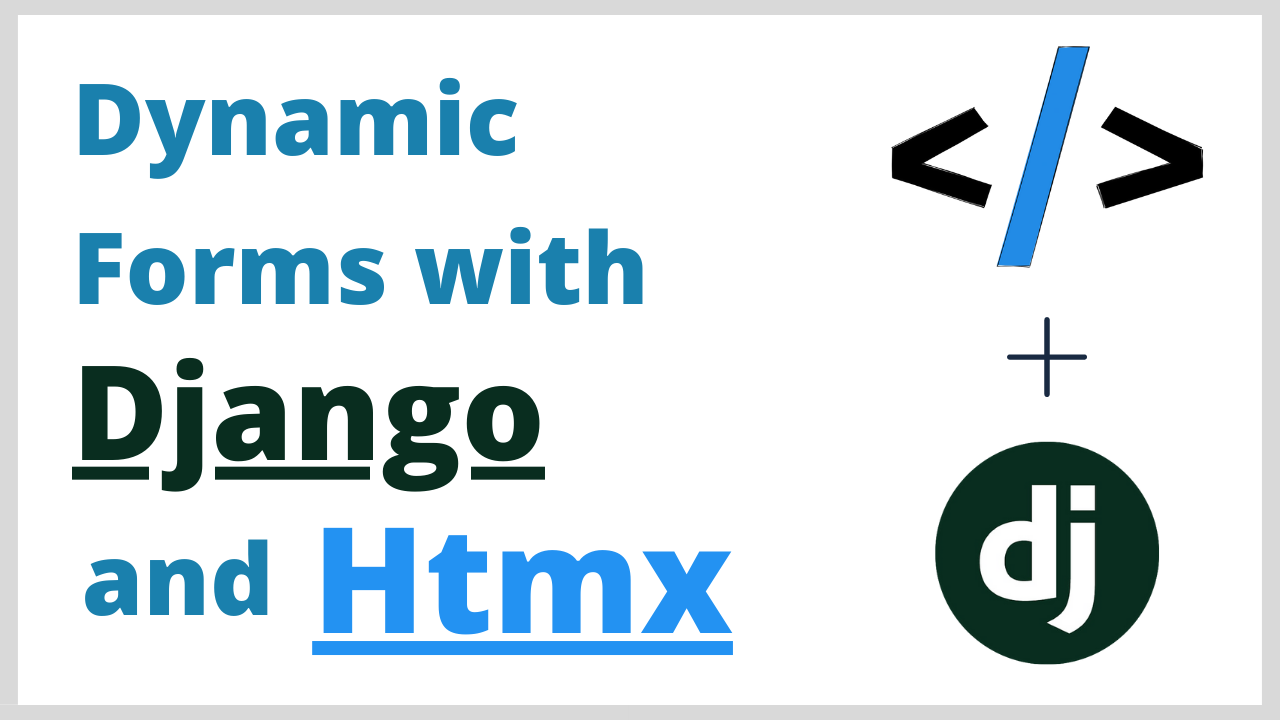 Django Formsets Tutorial - Build dynamic forms with Htmx